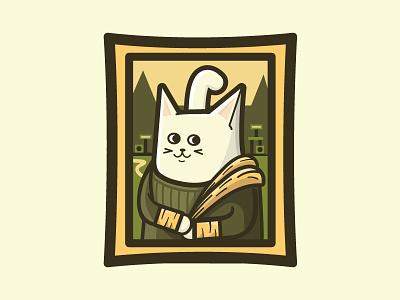 Meowna Lisa  meow mona lisa cats