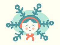 I got snow on my head