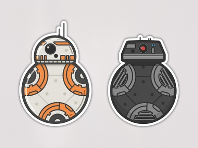 These are the droids you're looking for star wars bb-9e bb-8