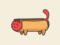 Hot Diggity Cat