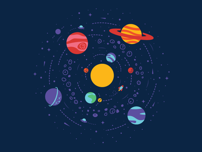 The System* space planets solar system