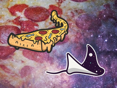 Pizza Cat & Space Ray