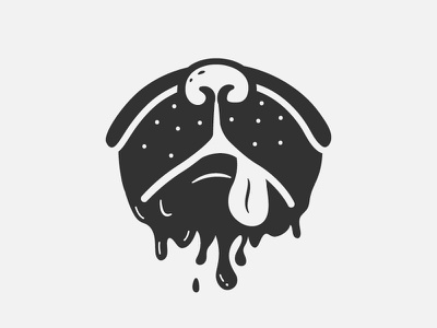 Drooling | Inktober 6/31 drooling drool nose dog vectober inktober 2018 inktober