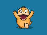 Scared Psyduck