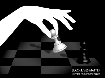 BLACK LIVES MATTER #justice for George Floyd design vector talenthouseartist talenthouse artdirection illustration