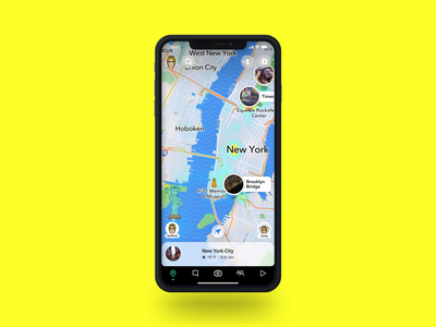 Daily UI 029 - Map mock-up mockup times square new york gps navigation route pin location snapmap snapchat map daily ui 029 dailyui 029 appui app design ui design dailyuichallenge dailyui