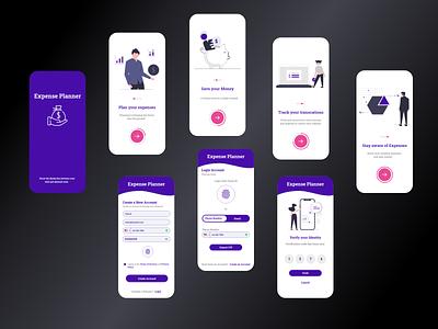 Onboarding UI appdesign onboarding appui ux dailyui ui app design