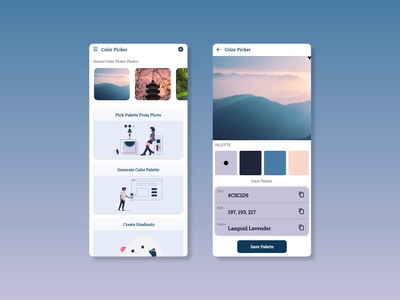 Color Picker UI colorpicker color appdesign appui ux dailyui app ui design