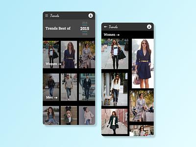 Best of 2015 UI bestof2015 dailyui063 appdesign appui ux dailyui app ui design