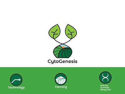 Logo design for a bio tech agriculture technology molicular biology