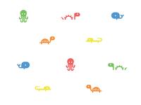Tiny Aquatic Creatures