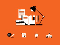 University Research toolkit icons