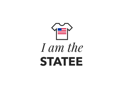 I am the Statee latvia riga flag america logo