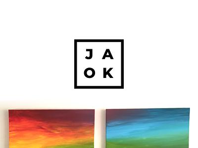 JAOK canvas abbreviation brand graphic logo riga latvia
