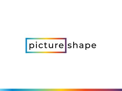 Picture Shape logodesign frame canvas picture print brand logo riga latvia