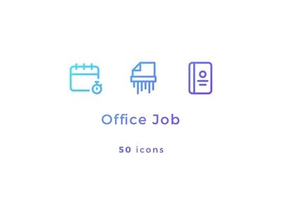 Office Job Icons
