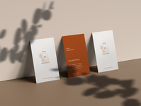 Casa Simoneta ⎥Business cards ui minimal icon vector restaurant logo logo design food mediterranean restaurant branding identity design businesscard business cards logo restaurant brand identity illustration branding
