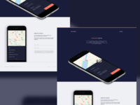 HereHere — Landing page new version