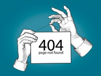 404 sign