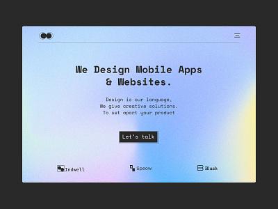 Design agency | Landing page teams agency design team landingpage homepage hero