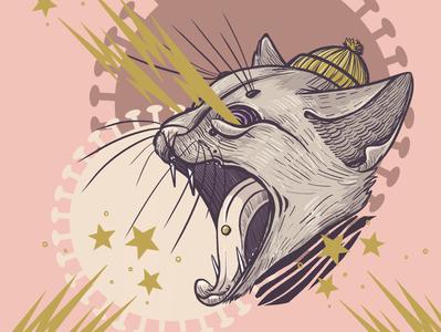 Corona Cat