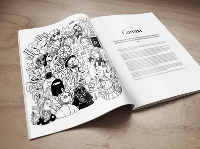 Covid19 Illustration - Mockup - Personal project