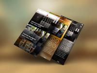 Update Wine App Screens