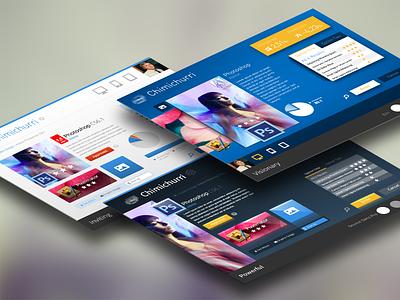 Chimichurri, Style Studies moodboard stylestudies mobile desktop explorations