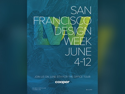 Design Week poster 2015