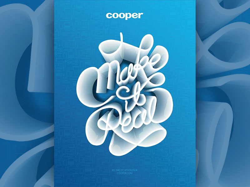 Poster cooper makeitreal