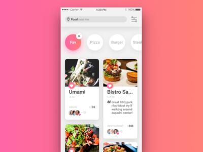Restaurant List / UI Challenge — Week 11