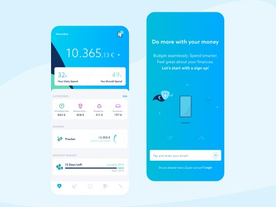 Zuper! webdesign digitaldesign design app digitalbank sketch finance mobile illustration signup app ux design startup ui interface