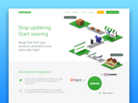 Salesoar Features Page