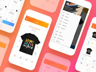 App Redesign application web icons visual design ux ui app mobile