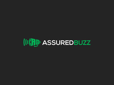 Assured Buzz buzz digital marketing marketing megaphone loudspeaker speaker loud smart lettermark mark brand logo