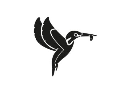 Kingfisher Kitchen Logo brand kingfisher icon branding logo