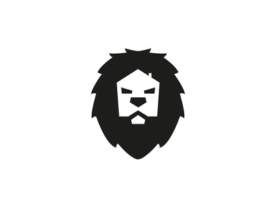 Power in Property WIP logo marque brand identity branding logo property house lion