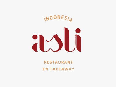 Indonesia Asli design graphic design illustration typography branding logo