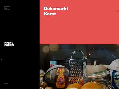 Derek Zomer graphic design design typography branding