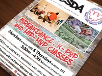 Motor City Street Dance Academy Flyer
