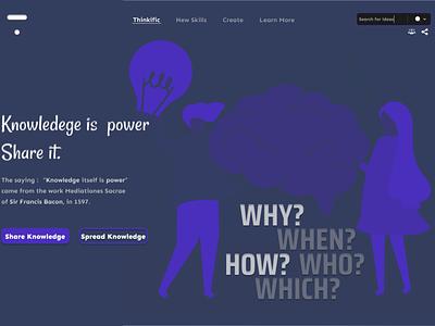 Thinkific design illustration ui design
