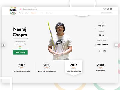 Profile Page(Players) icon vector typography app logo branding ux illustration ui design