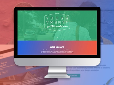 Three Twenty Studio - Portfolio Site