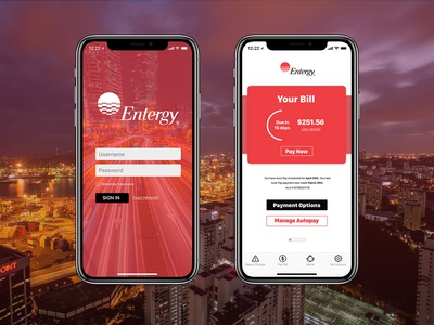 Entergy App Redesign