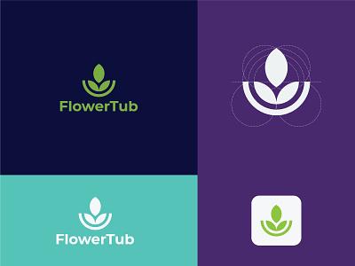 Modern logo monogram flat minimal typography mark symbol logotype logo illustration identity icon design branding