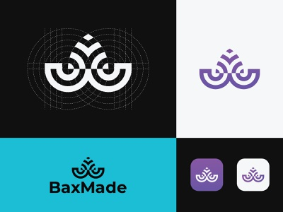 Modern logo mark typography flat minimal monogram mark symbol logotype logo illustration identity icon design branding