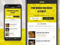 Catrd - Catering App