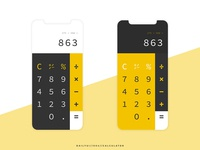 Daily UI // 004 // Calculator