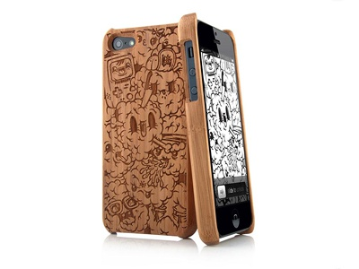 Laser Cut Bamboo Iphone Case By Pino Lamanna Dribbble