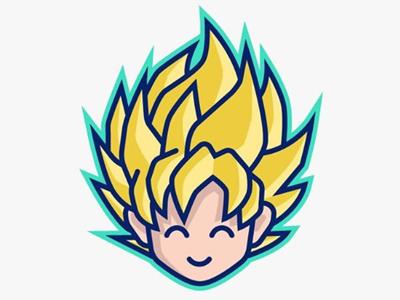 Son Goku Super Saiyan icon avatar super saiyan ssj saiyan son goku goku dbsuper dbz dragon ball dragonball